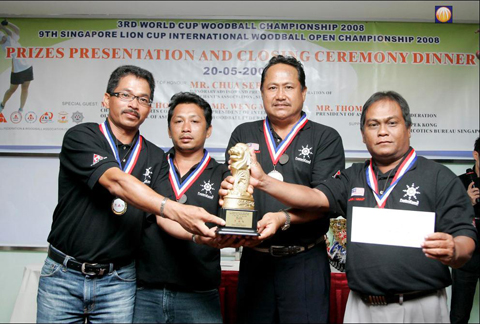 9th S'pore lion cup champion
